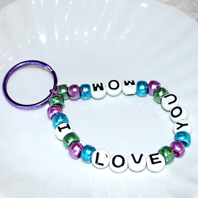 Make a simple Mothers Day Key Chain.