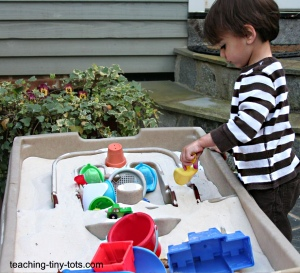 Sand Table Learning Activities