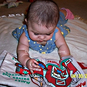 Introducing soft books to Infants