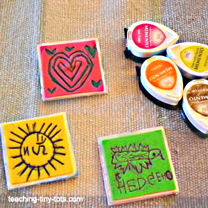 Making your own stamps