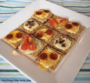 Make these easy Triscuit snacks.