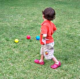identifying colored balls