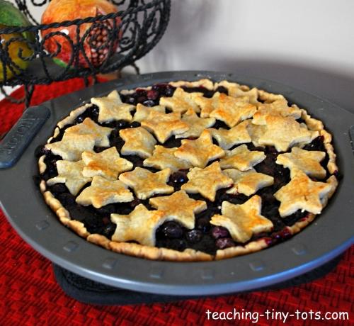 All Star Blueberry Pie Recipe