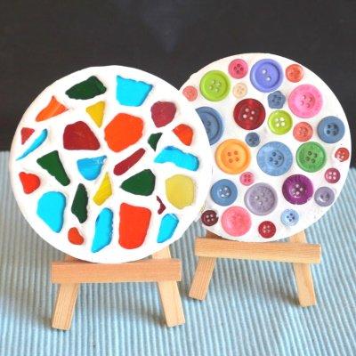 Make these cute coasters.