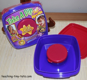 dip container for veggies and salads