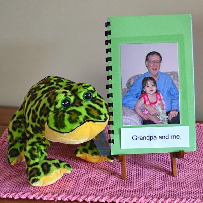 Make a family photo book.