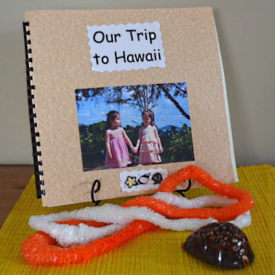 Make a photo book from a trip.
