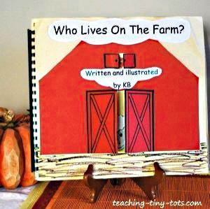 Make this cute farm book.