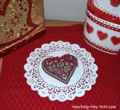 heart molds make cute Valentines gifts