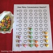 Graphing and Sorting with Conversation Hearts