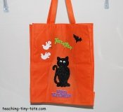 recyclable Halloween bag
