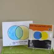 little yellow and little blue book activity