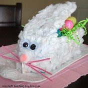 milk carton bunny