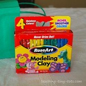Modeling Clay Party Favor