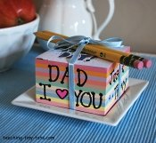 notecube for father's day