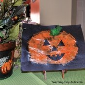 tissue pumpkin picture