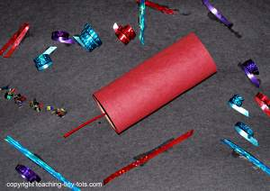 New Years Firecracker Craft