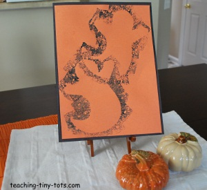 Ghost sponge painting