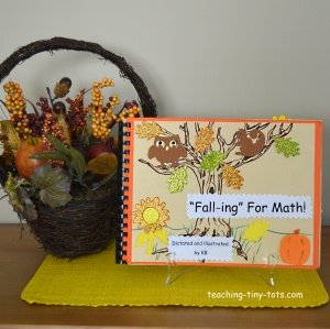 Fall-ing-for Math Addition Book