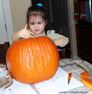 Pumpkin Carving Activity