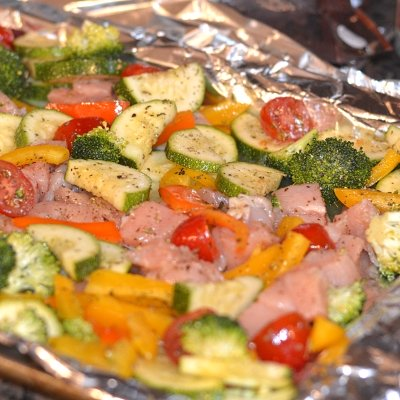 Roasted Chicken and Veggies Recipe