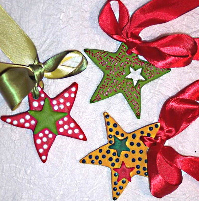 Make Salt Dough Star Ornaments