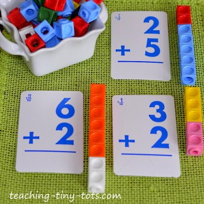 Our Math section introduces basic Math concepts through fun and engaging activities. We have activities for sorting, counting, recognizing numbers and patterning.