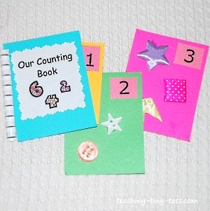 touch and feel number book
