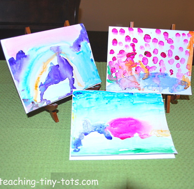 Watercolor to Make Cards